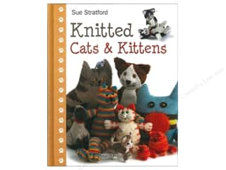 Doll Making Yarn & Needlework: Search Press Knitted Cats & Kittens Book