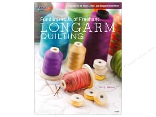 Annies Attic 8 1/2 in: Annie's Fundamentals Of Freehand Longarm Quiltng Book by Terri L. Watson