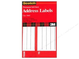 Art School & Office: Scotch Address Labels 4 5/8 x 2 7/8 in. 25 pc.
