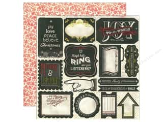 Authentique Die Cut Paper Accents Joyous Statements (18 piece)