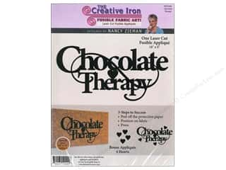 Appliques $4 - $18: Creative Iron Fuse Applique Nancy Zieman Chocolate Therapy