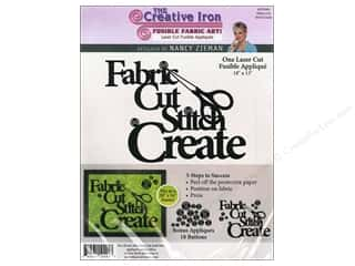 Creative Iron, The: Creative Iron Fuse Applique Nancy Zieman Fabric Cut Stitch Create