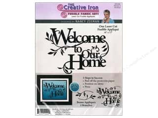 Creative Iron, The Clearance Patterns: Creative Iron Fuse Applique Nancy Zieman Welcome To Our Home
