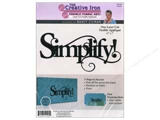 Creative Iron, The Clearance Patterns: Creative Iron Fuse Applique Nancy Zieman Simplify!