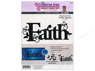 Creative Iron, The Clearance Patterns: Creative Iron Fuse Applique Nancy Zieman Faith