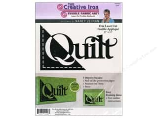 Creative Iron, The Creative Iron Fuse Appliques: Creative Iron Fuse Applique Nancy Zieman Quilt