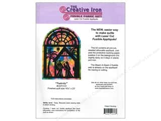 Creative Iron Nativity Applique & Pattern 16.5 x 23 in.