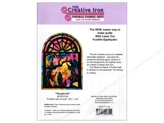 Fabric Christmas: Creative Iron Shepherds Applique & Pattern 16 1/2 x 23 in.