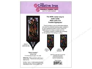 Religious Subjects Patterns: Creative Iron Holy Family Applique & Pattern 12 x 30 in.