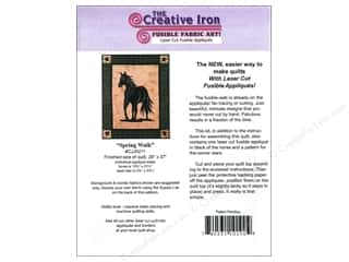 Creative Iron, The $5 - $9: Creative Iron Spring Walk Applique & Pattern 29 x 37 in.