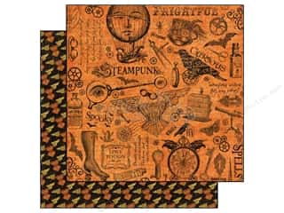 Graphic 45 Paper 12x12 Steampunk Spells MechMarvel (25 piece)