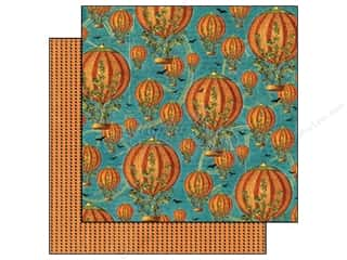 Graphic 45 Paper 12x12 Steampunk Spells PumpkinPwr (25 piece)