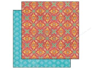 Graphic 45 12 in: Graphic 45 Paper 12x12 Bohemian Bazaar Jasmine Nights (25 pieces)