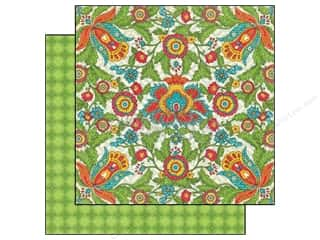 Graphic 45 Hot: Graphic 45 Paper 12x12 Bohemian Bazaar Vivid Splendor (25 pieces)