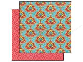 Graphic 45 12 in: Graphic 45 Paper 12x12 Bohemian Bazaar Opulent Sunset (25 pieces)
