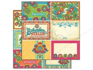 Graphic 45: Graphic 45 Paper 12x12 Bohemian Bazaar Lap of Luxury (25 sheets)