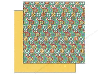 Graphic 45 Hot: Graphic 45 Paper 12x12 Bohemian Bazaar Kaleidoscope (25 pieces)