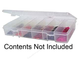 Creative Options Scrapbooking: Creative Options Organizer Embellishments Keeper Petite 6 Compartments