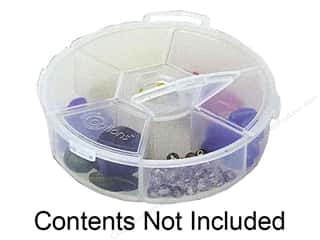 Creative Options Creative Options Tote: Creative Options Organizer Round 6 Compartment Organizer (3 pieces)