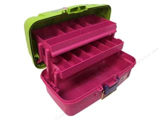 Craft Organizers Tote: Creative Options Organizer Two Tray Craft Box