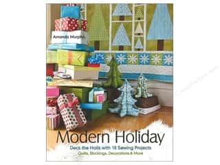 Potter Publishing Home Decor: Stash By C&T Modern Holiday Book