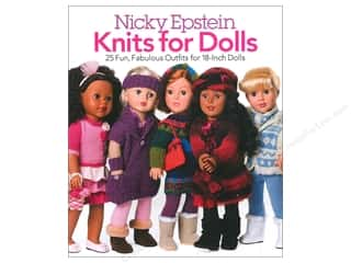 Sixth & Spring Books $18 - $21: Nicky Epstein  Knits For Dolls Book by Sixth & Spring Books
