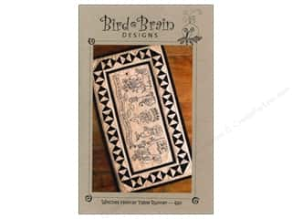Bird Brain Designs Witches Hooray Table Runner Pattern