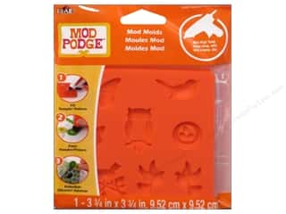 Clay & Modeling Animals: Plaid Mod Podge Tools Mod Mold Nature