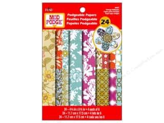 Plaid Mod Podge Podgeable Papers Vintage Wallpaper