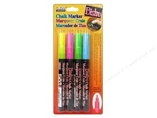 Art, School & Office Pens: Uchida Bistro Chalk Marker Fine Set A 4pc