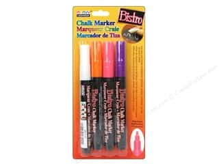 Office Uchida Bistro Chalk Marker: Uchida Bistro Chalk Marker Fine Set H 4pc