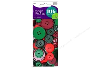 coordination burgundy: Blumenthal Buttons Big Bag Christmas 3 1/2 oz.