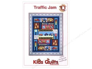 Transportation: Kids Quilts Traffic Jam Pattern