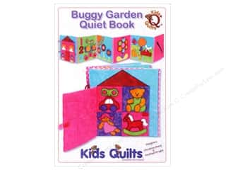 "Books & Patterns 12"": Kids Quilts Buggy Garden Quiet Book Pattern"