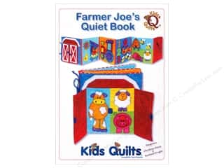 "Books & Patterns 12"": Kids Quilts Farmer Joe's Quiet Book Pattern"