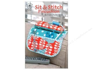 Bareroots Home Decor Patterns: Taylor Made Sit & Stitch Pincushion Pattern