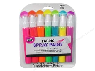 Tulip Tulip Fabric Spray Paint: Tulip Fabric Spray Paint Pack Mini Neon 7pc