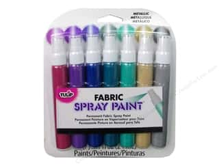 Tulip Fabric Spray Paint Pack Mini Metallic 7pc