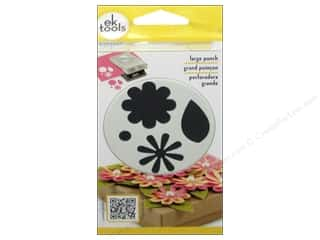 Borders EK Paper Shapers Punches: EK Paper Shapers Punch Large Flowers & Leaves