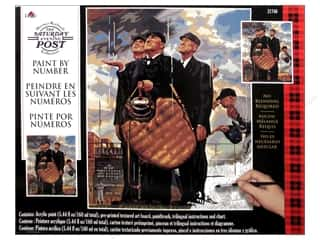 Weekly Specials Paint: Plaid Paint By Number 16 x 20 in. Saturday Evening Post The Three Umpires