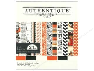 Authentique 6 x 6 in. Paper Bundle Thrilling 24 pc.
