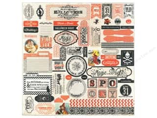 Weekly Specials EZ Acrylic Ruler: Authentique Stickers 12 x 12 in. Thrilling Details