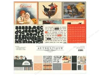 New Years Resolution Sale Kit: Authentique Collection Kit 12 x 12 in. Thrilling