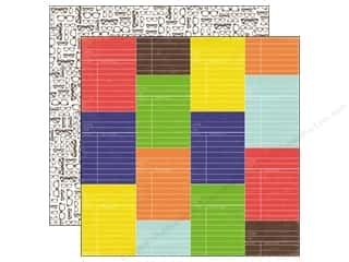 Clearance Blumenthal Favorite Findings: Echo Park 12 x 12 in. Paper & Glue Library Card (25 piece)