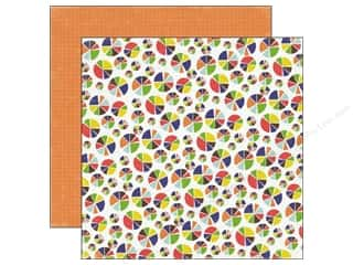 Charts: Echo Park 12 x 12 in. Paper Paper & Glue Collection Pie Charts (25 sheets)