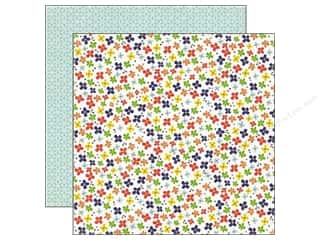 Flowers Back To School: Echo Park 12 x 12 in. Paper Paper & Glue Collection Little Flowers (25 pieces)