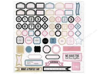 Tapes ABC & 123: Melissa Frances Die Cut Classic Elegance Accents