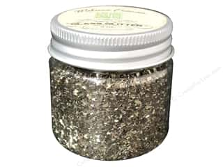 Melissa Frances Glitter Glass 2oz Tarnished Silver