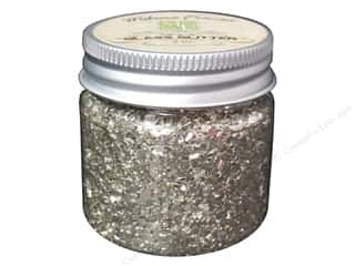 Melissa Frances Glitter Glass 2oz Silver