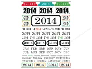 SRM Stickers Craft Organizers: SRM Press Sticker Year of Memories 2014